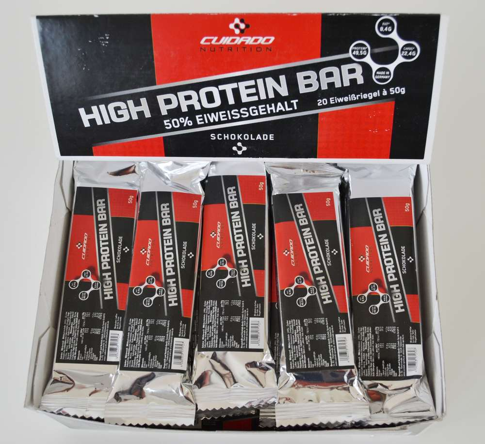 Protein Riegel 50 Low Carb 50g 20 Riegel Im Display