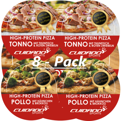 8-Pack Protein-Pizza